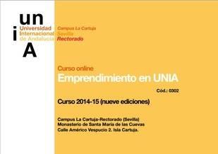 La UNIA imparte cursos on line de emprendimiento en los próximos meses