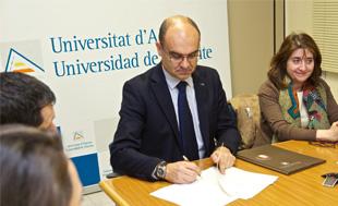 Convenio entre la UA y la Universidad mexicana de Colima