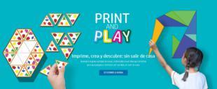 Print, Play & Learn, recursos educativos gratuitos de HP para familias en los tiempos del COVID19