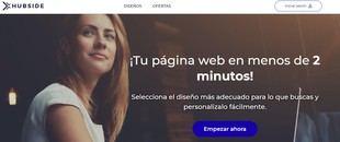 HUBSIDE llega a España, crea tu web fácilmente sin conocimientos técnicos