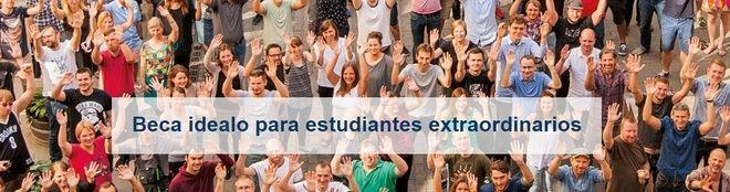 Idealo y European Funding Guide, 10 becas de 90.000 euros para talentos extraordinarios