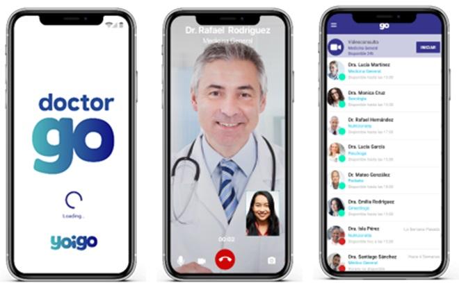 DoctorGO, el nuevo servicio de telemedicina con atención presencial de Yoigo