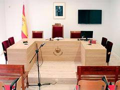 Primer Certamen de Actuaciones en Sala para estudiantes de Derecho