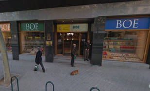 Los libros de las universidades españolas podrán adquirirse en la librería del BOE