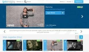 Lyricstraining: aprender 10 idiomas siguiendo música y letras de canciones