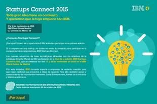 Cuatro startups participarán en la final de la competición para emprendedores Startups Connect
