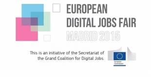50 empresas europeas buscan profesionales TIC españoles en la Feria del Empleo Digital