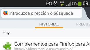 Nueva versión de Firefox para Android