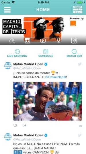 El Mutua Madrid Open crea el MatchBot, Inteligencia Artificial para los aficionados
