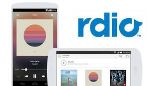 Nuevo servicio gratuito de radio para móviles de Rdio