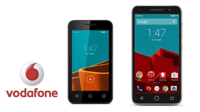 Vodafone amplia su portfolio con dos nuevos dispositivos: Smart first y Smart Prime 6