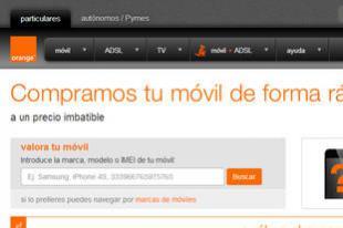 Orange te compra el móvil
