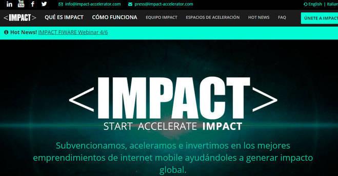 La aceleradora IMPACT selecciona 23 nuevos proyectos de startups