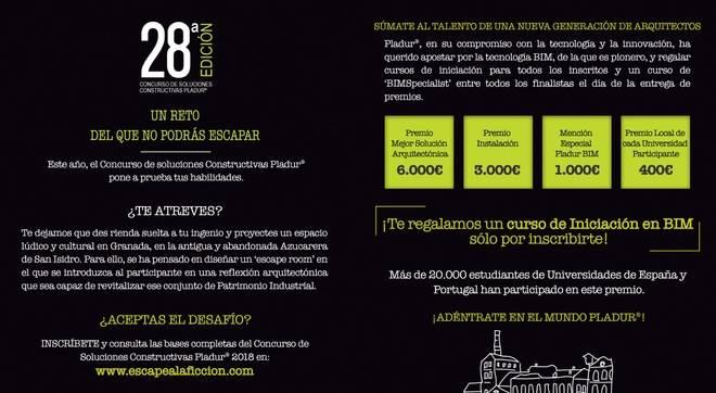 Arranca la 28ª Edición de los Premios Pladur para estudiantes de arquitectura
