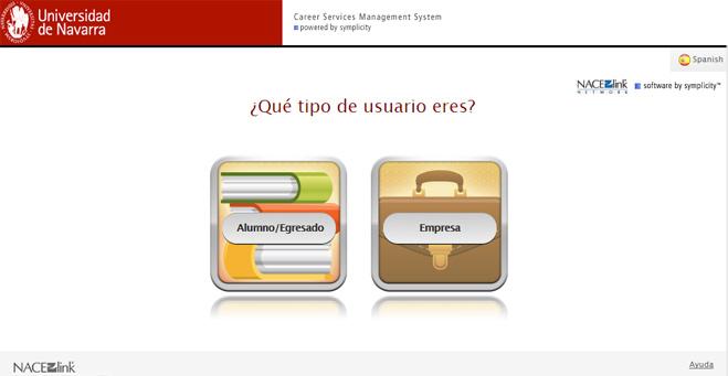 La Universidad de Navarra lanza un Portal de Carreras Profesionales