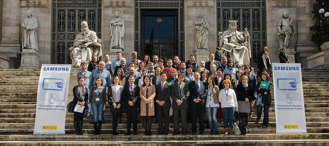 Se celebra en Madrid el Encuentro de Profesores Samsung Smart School