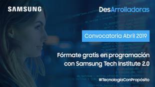 DesArrolladoras, comienza la segunda edición del programa formativo para chicas de Samsung