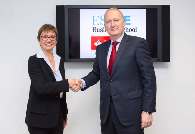 ESADE y Banco Santander renuevan su acuerdo para promover la iniciativa emprendedora