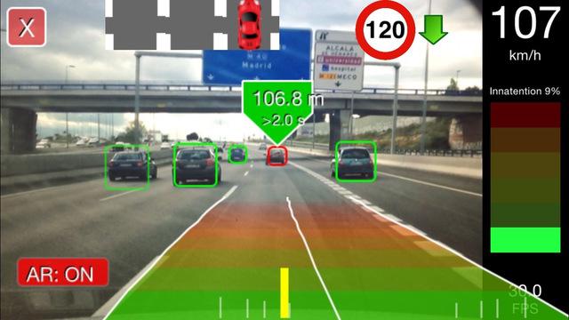 La UAH lanza una aplicación para Smartphones, Drivesafe, que convierte cualquier coche en un vehículo 'premium'
