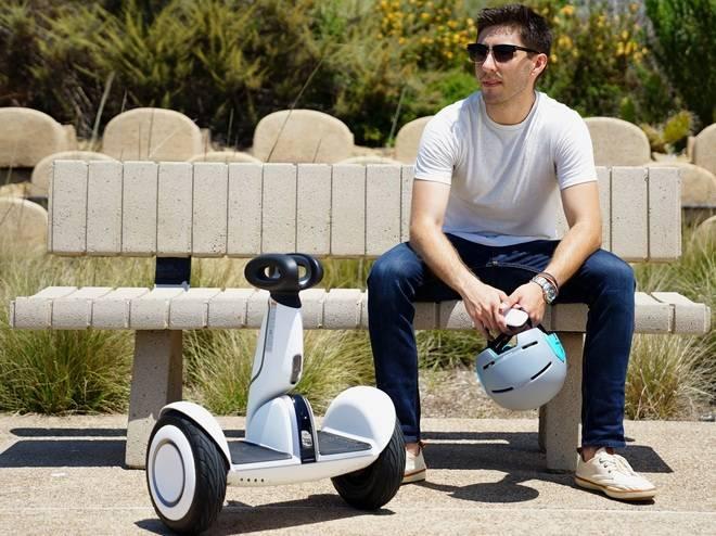 Segway avanza hacia el nuevo transporte personal