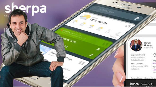 Sherpa se monta en el Samsung Galaxy Edge 6