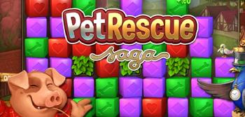 King.com lanza Pet Rescue Saga, un nuevo juego para Facebook
